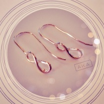 AKA Infinity Earrings